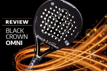 Análisis de la Black Crown Omin, pala exclusiva