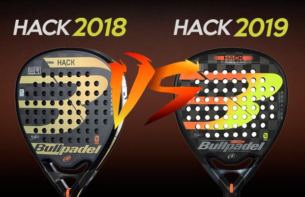 diseño exquisito comparar el precio precio de calle Diferencias entre la Bullpadel Hack 2019 y la de 2018 - Blog ...