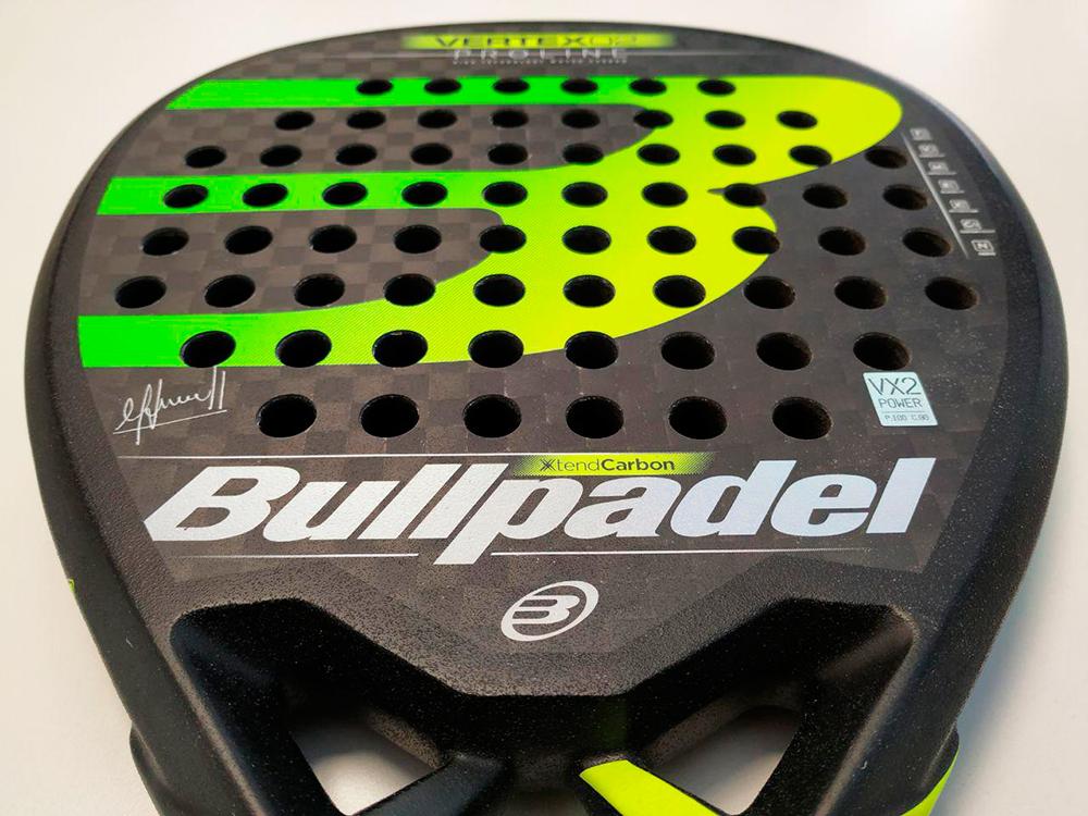 Bullpadel 2019, pala de Maxi Sánchez