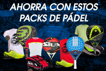 Packs de pádel en oferta