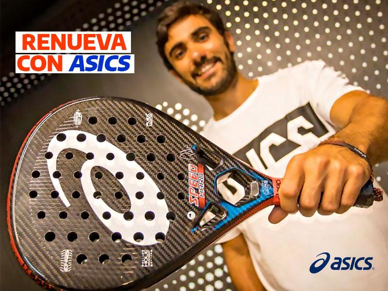 Pablo Lima renueva con Asics