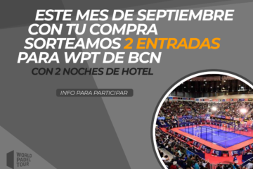 sorteo master final world padel tour
