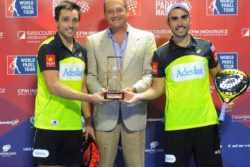 Bela y Lima vencen en el Monte-Carlo Padel Master