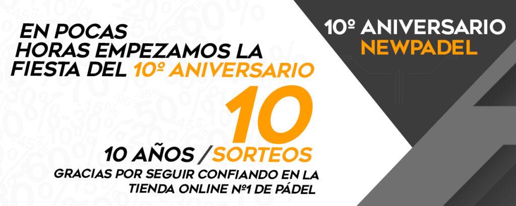 10 aniversario new padel