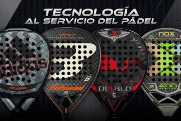 palas de pádel con tecnología