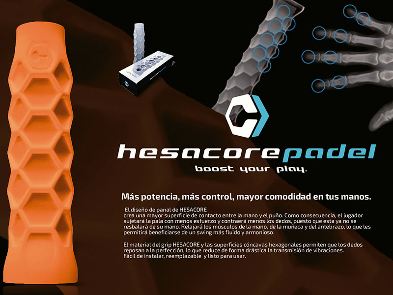 Hesacore Bullpadel, grip para palas de pádel