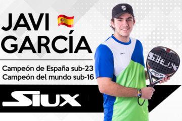 Javi García Mora, jugador del Siux Team.