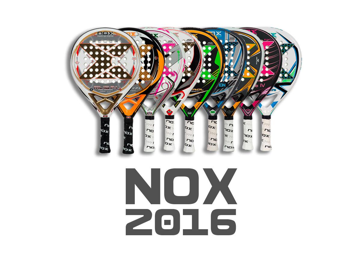 Palas de pádel Nox 2016