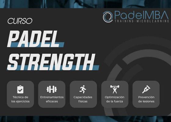 Mejora tu físico para el pádel con el nuevo curso PadelMBA Padel Strength