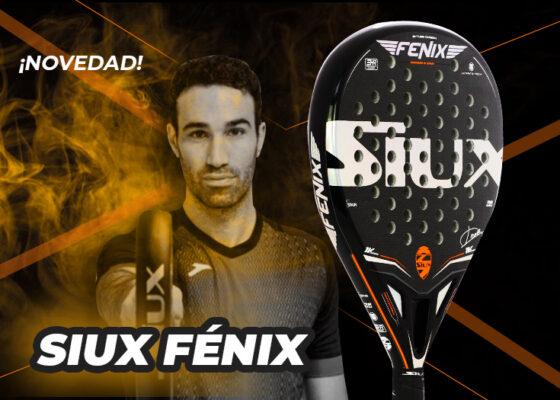 Conoce la pala de pádel de Javi Ruiz, la nueva Siux Fenix