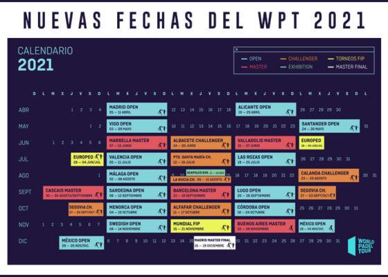 Todos los detalles de la nueva temporada del WPT. Calendario, parejas ¡y mucho más!