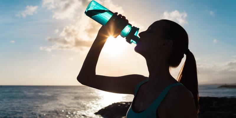 Hidratación en el pádel