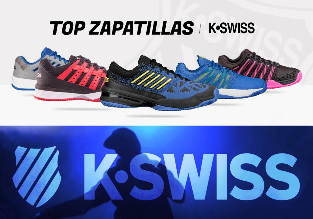 Las mejores zapatillas Kswsiss para jugar al pádel