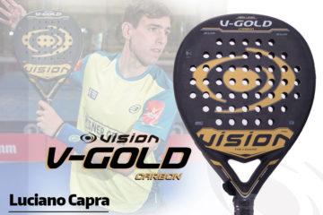 Nueva pala Vision Gold, de Luciano Capra.