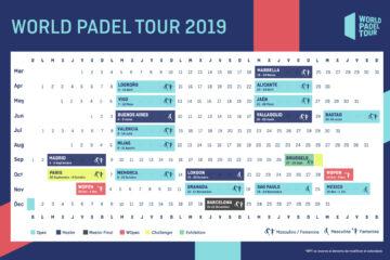 Calendario World Padel Tour 2019