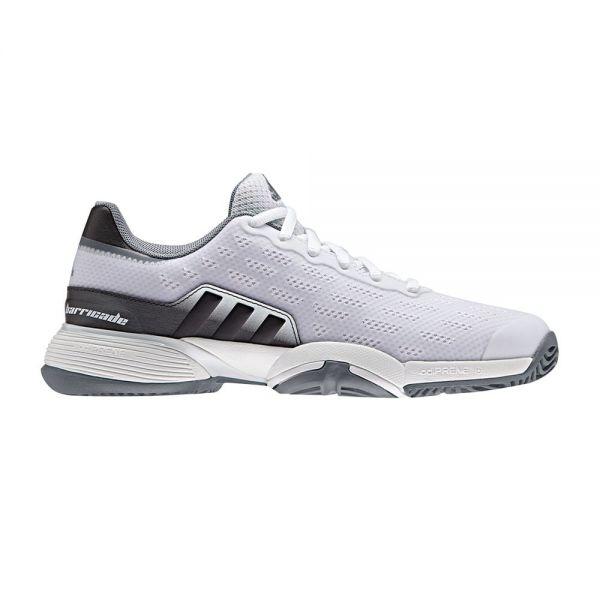 zapatillas-adidas-junior-barricade-blanco