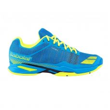 ZAPATILLAS BABOLAT JET ALL COURT JUNIOR AZUL AMARILLO