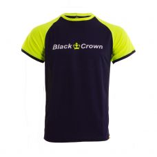 CAMISETA BLACK CROWN X5 MARINO AMARILLO