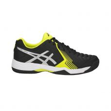 ASICS GEL GAME 6 CLAY NEGRO  AMARILLO E706Y 9093