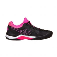 ASICS GEL CHALLENGER 11 NEGRO ROSA MUJER E753Y 9090