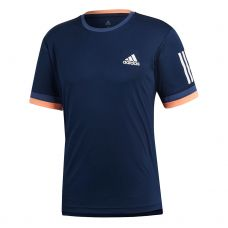 CAMISETA ADIDAS CLUB 3 STRIPES AZUL MARINO