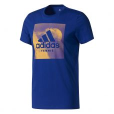 CAMISETA ADIDAS CATEGORY TEN AZUL GOLD