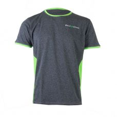 CAMISETA BLACK CROWN WILLY GRIS VIGORE VERDE
