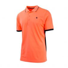 POLO K-SWISS PERFORMANCE NEON NARANJA