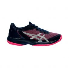 ASICS GEL COURT SPEED CLAY AZUL ROSA MUJER E851N 400