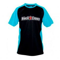CAMISETA BLACK CROWN STOP BLACK BLUE