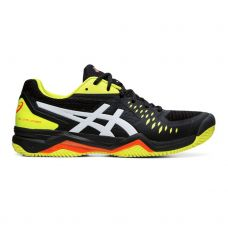 ASICS GEL CHALLENGER 12 CLAY NEGRO AMARILLO 1041A048 015
