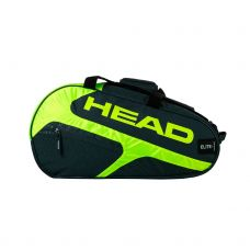 PALETERO HEAD ELITE PADEL SUPERCOMBI GRIS AMARILLO FLUOR
