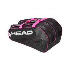 PALETERO HEAD ELITE PADEL SUPERCOMBI NEGRO ROSA