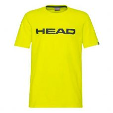 CAMISETA HEAD CLUB IVAN AMARILLO NEGRO