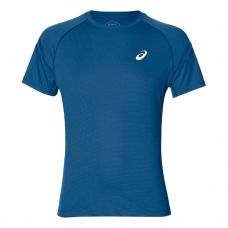 CAMISETA ASICS SILVER ICON TOP AZUL