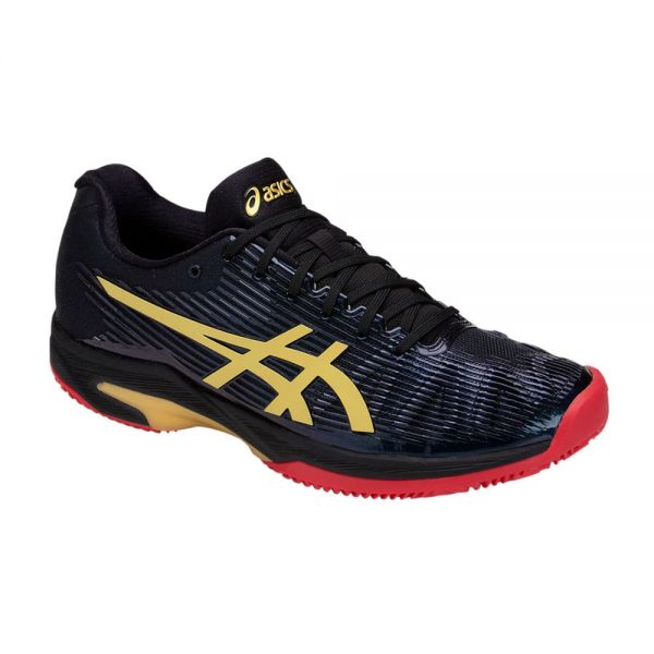 ASICS SOLUTION SPEED FF LE CLAY NEGRO GOLD 1041A055 001