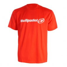 CAMISETA BULLPADEL ROJO