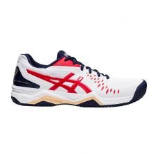 ASICS GEL-CHALLENGER 12 CLAY BLANCO ROJO 1041A048-115