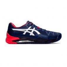 ASICS GEL RESOLUTION 8 AZUL BLANCO ROJO 1041A079-400