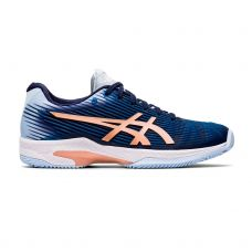ASICS SOLUTION SPEED FF CLAY AZUL BLANCO MUJER 1042A003-413