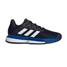 ADIDAS SOLEMATCH BOUNCE CLAY NEGRO AZUL EG2219