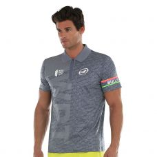 POLO BULLPADEL SAMURAI GRIS