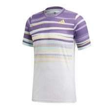 CAMISETA ADIDAS FREELIFT HEAT.RDY BLANCO MORADO