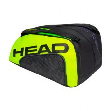 PALETERO HEAD TOUR TEAM PADEL MONSTERCOMBI NEGRO AMARILLO FLÚOR