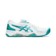 ASICS GEL-CHALLENGER 12 CLAY BLANCO AZUL MUJER 1042A039.107