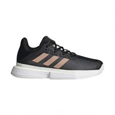 ADIDAS SOLEMATCH BOUNCE NEGRO MARRÓN MUJER FU8125