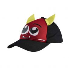 GORRA HEAD MONSTER ROJO NEGRO