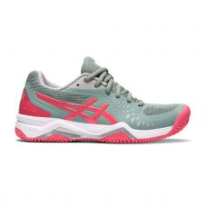 ASICS GEL-CHALLENGER 12 CLAY GRIS ROSA MUJER 1042A039 021