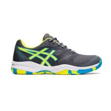 ASICS GEL-PADEL EXCLUSIVE 6 GRIS AMARILLO 1041A200 021