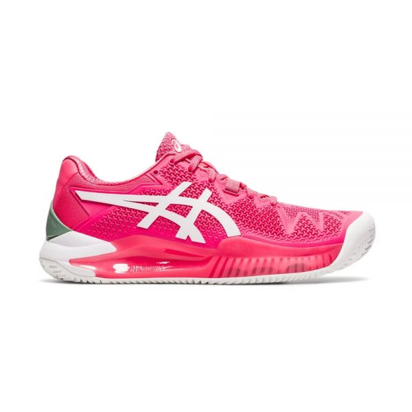ASICS GEL-RESOLUTION 8 CLAY ROSA BLANCO MUJER 1042A070 702